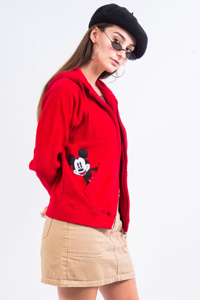 Vintage Disney Mickey Mouse Fleece Jacket
