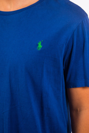 Ralph Lauren Blue Logo T-Shirt