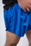 Vintage 80's Glanz Shiny Blue Short Shorts