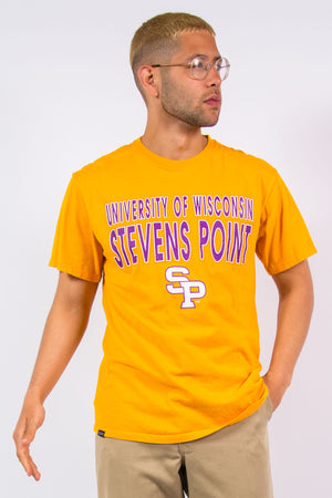 90's University of Wisconsin T-Shirt Stevens Point
