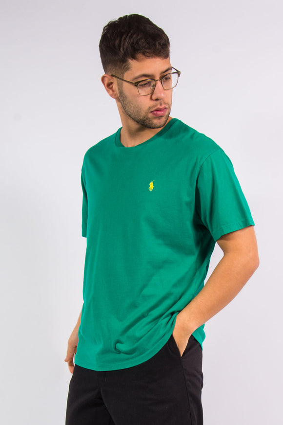Ralph Lauren green logo t-shirt