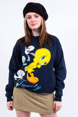 Vintage 90's Looney Tunes Tweety Pie Sweatshirt
