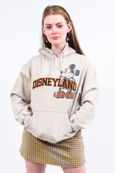 Vintage Embroidered Disneyland Hooded Sweatshirt