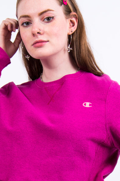 Vintage Champion Cropped Sweatshirt