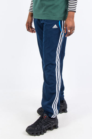 00's Adidas Three Stripe Tracksuit Bottoms