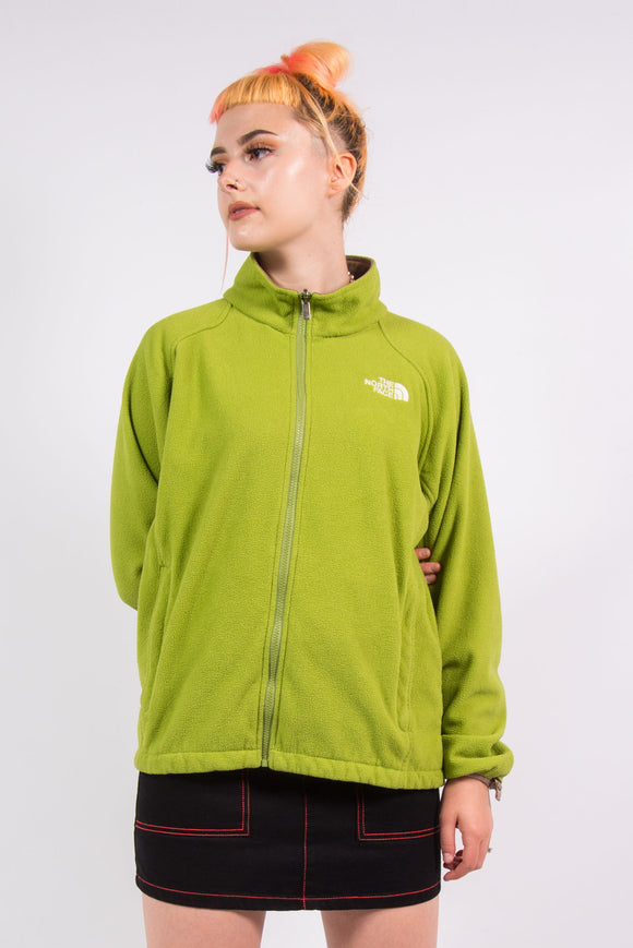 The North Face Green Fleece Jacket