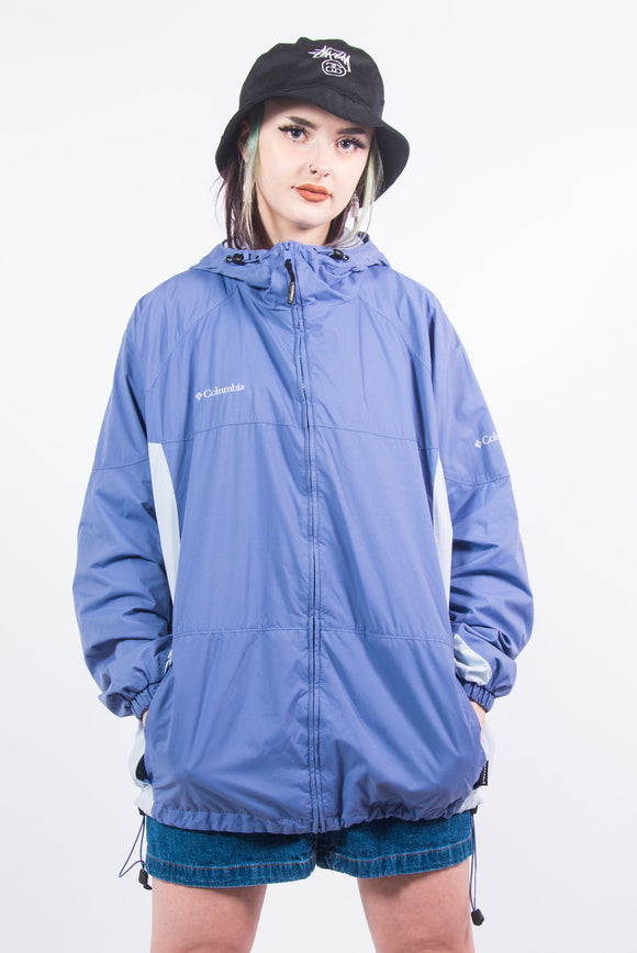 Vintage Columbia Hooded Rain Jacket