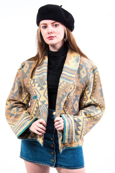 Vintage 90's Tapestry Patterned Jacket