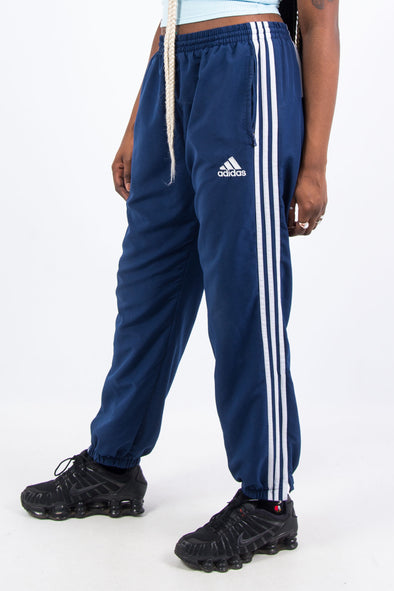 Vintage Adidas Three Stripe Tracksuit Bottoms