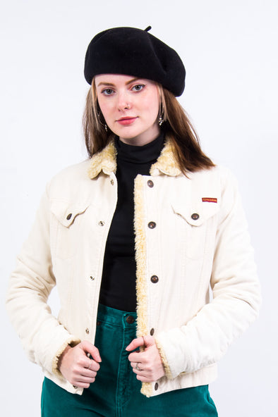 Y2K Roxy Jean Corduroy Fleece Jacket