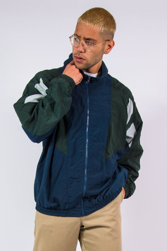 Vintage 90's Windbreaker Shell Jacket