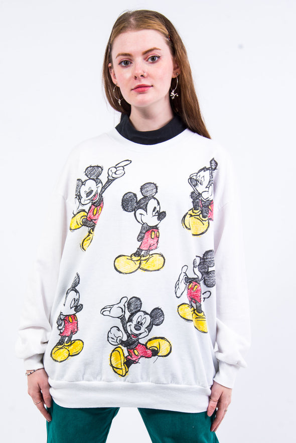 Vintage 90's Mickey Mouse Sweatshirt
