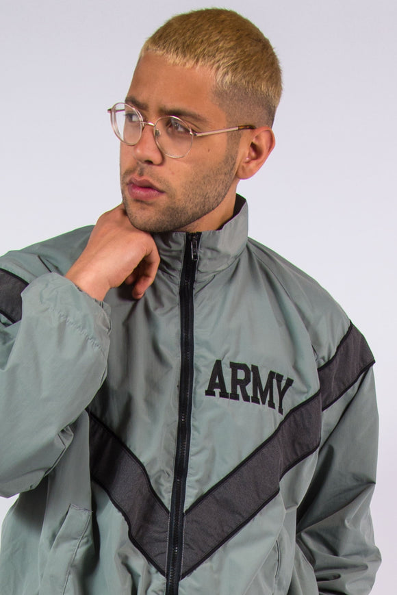 U.S. Army Training Jacket Windbreaker Tracksuit Jacket