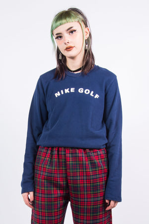 Vintage 90's Nike Golf Spell Out Sweatshirt