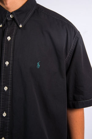 Ralph Lauren Black Short Sleeve Shirt