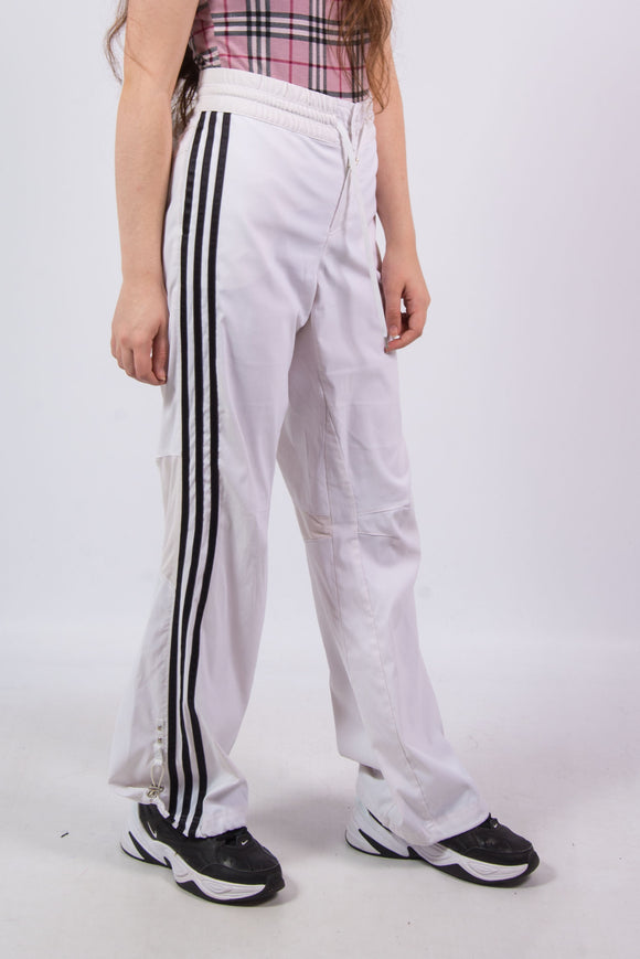 Adidas Vintage 90's Shell Tracksuit Bottoms