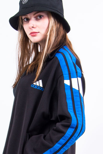 Vintage 90's Adidas Three Stripe Tracksuit Jacket