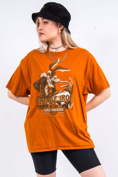 Harley Davidson Looney Tunes New Jersey T-Shirt