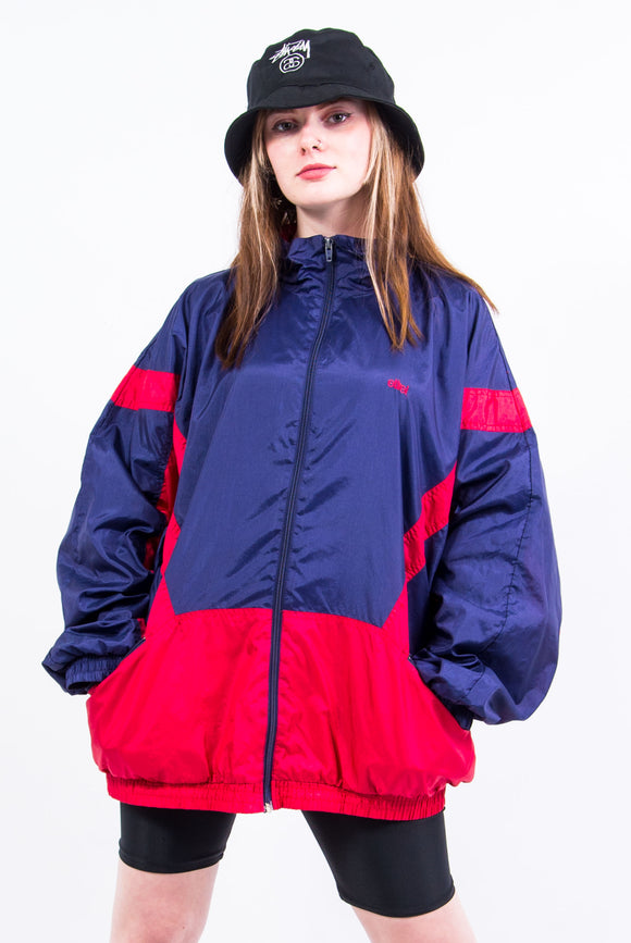 Vintage 90's Windbreaker Shell Tracksuit Jacket