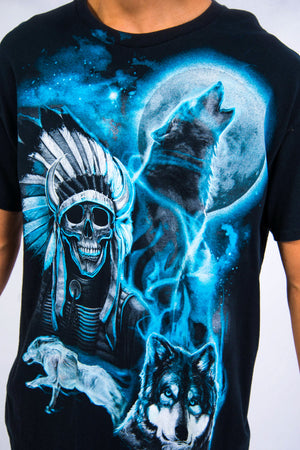 Vintage Wolf Graphic T-Shirt