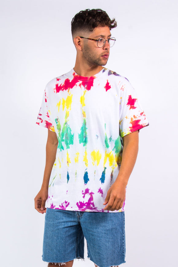 Vintage Multicoloured Tie Dye T-Shirt