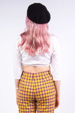 Vintage Milk Maid Crop Top