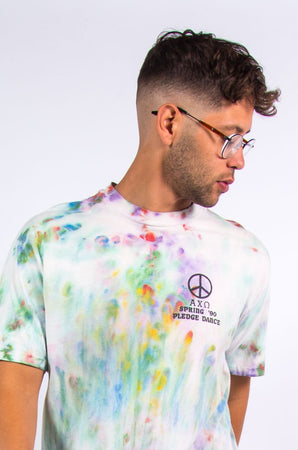 Vintage Tie Dye College Honor Society T-Shirt
