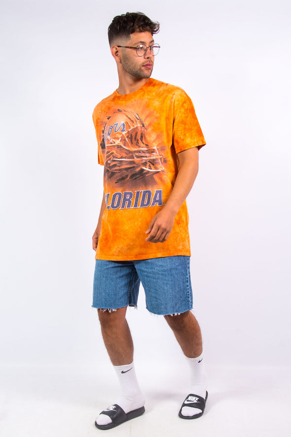 00's' Florida Gators Tie Dye T-Shirt