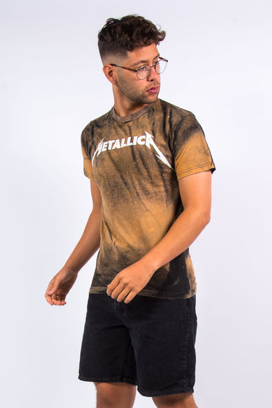 Bleach Splatter Metallica T-Shirt
