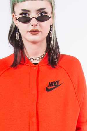 Vintage Nike Bright Red Tracksuit Jacket