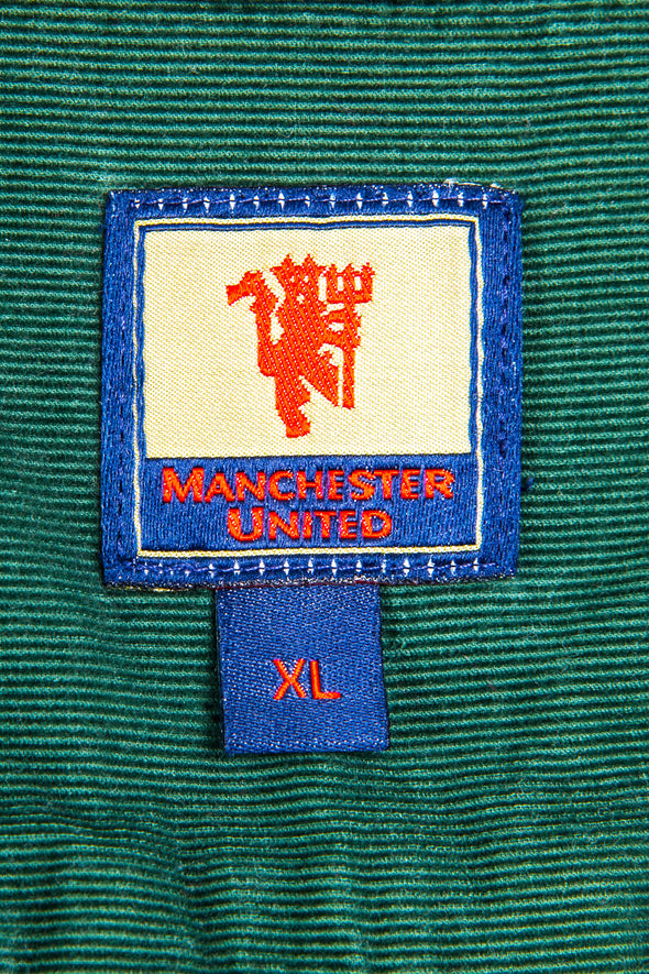 90's Manchester United Cord Shirt