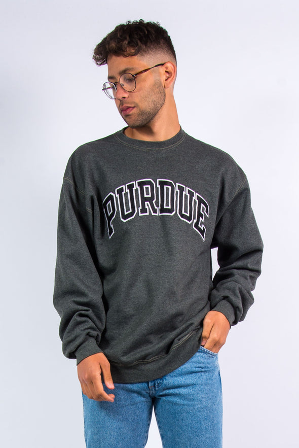Champion Purdue University Spell Out Sweatshirt