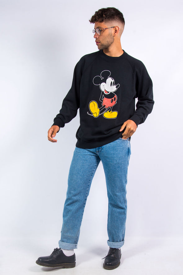 90's Disney Mickey Mouse Sweatshirt