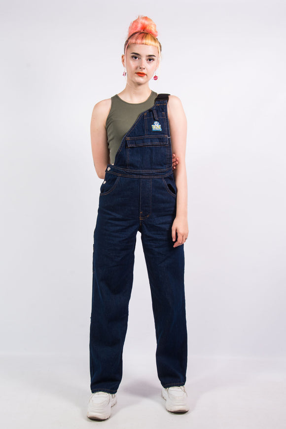 Vintage 90's One Stap Full Length Dungarees
