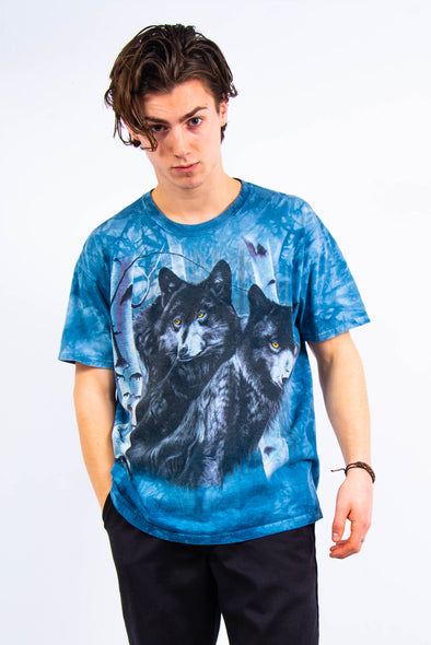 The Mountain Wolf Print T-Shirt