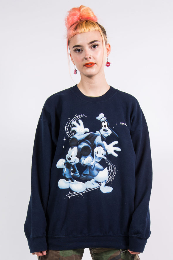 Vintage 90's Navy Blue Disney Sweatshirt