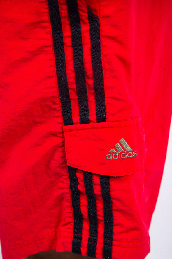 Vintage Adidas Three Stripe Swim Shorts