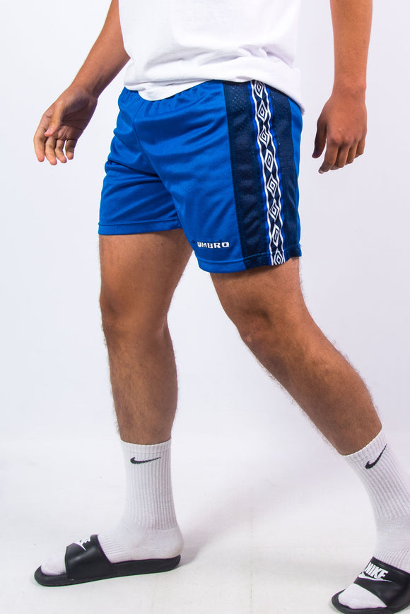 90's Vintage Blue Umbro Shorts