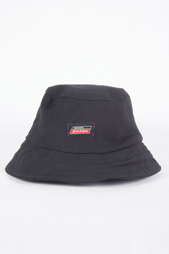 Dickies Black Canvas Bucket Hat