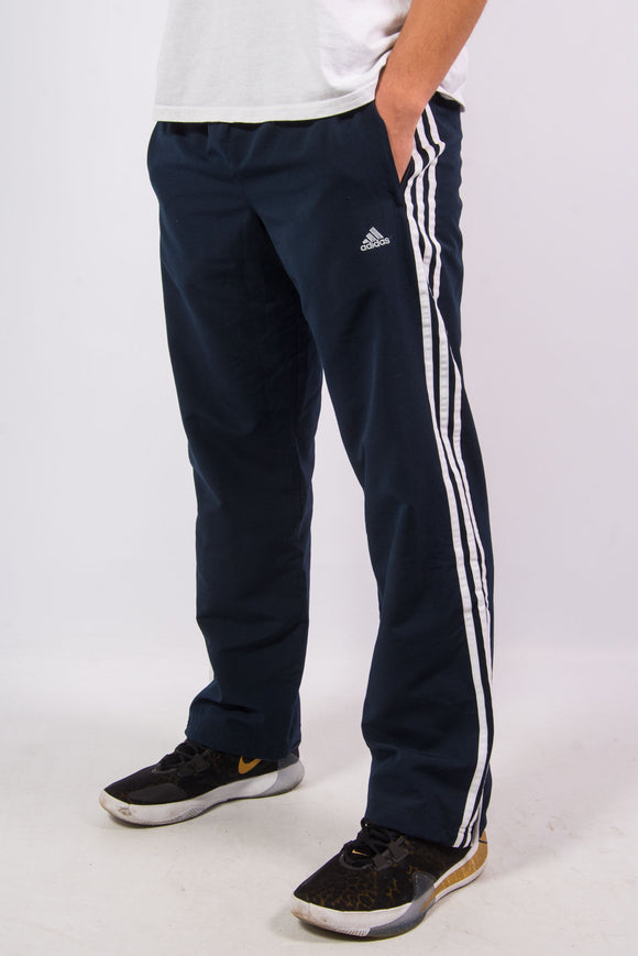 Adidas Three Stripe Tracksuit Bottoms