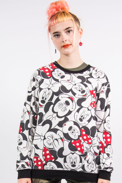 Vintage 90's Disney Minnie Mouse Bold Sweatshirt