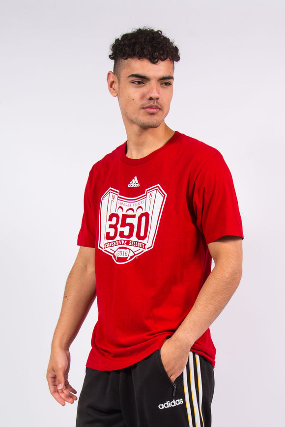Adidas T-Shirt The University Of Nebraska Huskers