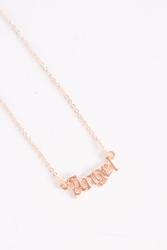 Angel Cute Y2K Necklace