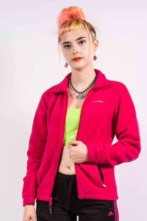 Vintage 90's Pink Columbia Fleece Jacket