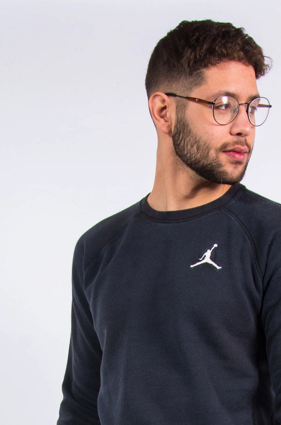 Nike Air Jordan Black Sweatshirt