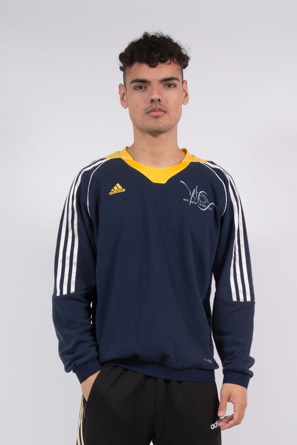 Adidas LA Galaxy MLS Soccer Sports Sweatshirt