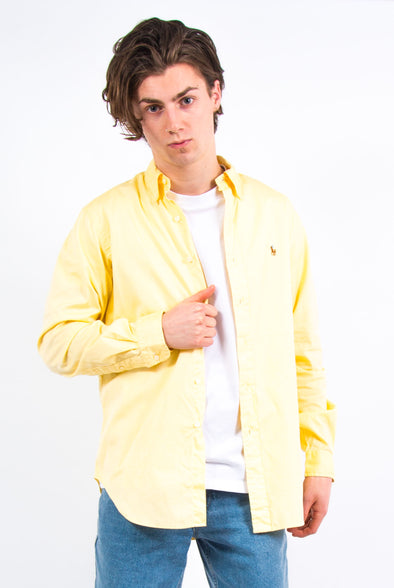 Vintage Yellow Ralph Lauren Shirt