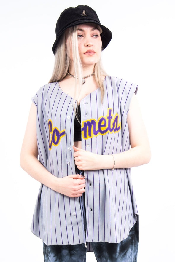 Vintage Sleeveless Comets Baseball Shirt