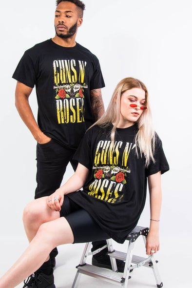 Retro Guns N Roses Band T-Shirt