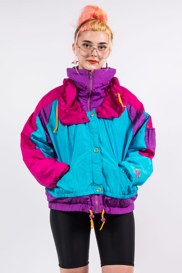 Vintage 90's Colour Block Ski Jacket